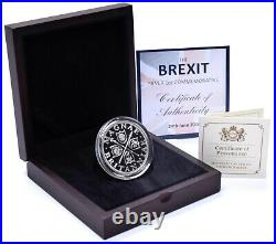 2016 Brexit Commemorative Houses of Parliament 1oz Silver Proof Coin Boxed COA