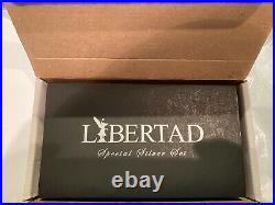 2016 Mexico 2-Coin Silver Libertad Proof/Reverse Proof Set with box and COA