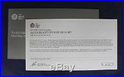 2016 Silver Piedfort Proof 8 coin Set in Case with COA & Outer Box (K4/43)
