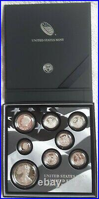2016 US Mint Limited Edition SILVER Proof Set With Original Box & COA