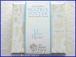 2017 Beatrix Potter Peter Rabbit 50p Fifty Pence Silver Proof Coin Box Coa