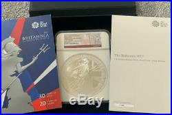 2017 Royal Mint Silver Proof 20 OUNCE Britannia Only 103 Minted! Boxed