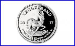 2017 Silver Krugerrand 1 OZ Proof NGC PF70 UCAM First Releases with boxes & COA