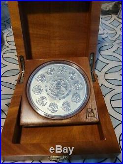 2018 1 Kilo Proof Mexican Silver Libertad Coin (Box + CoA)