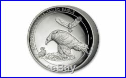 2018 Australia Wedged-Tailed Eagle 1 oz. 9999 Silver HR Proof Coin WithBox & COA