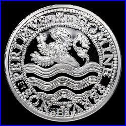 2018 Netherlands 5 oz Silver Proof Lion Dollar (withBox & COA) SKU#188675