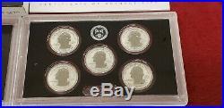 2018-S U. S Mint Silver Reverse Proof Set -KENNEDY LIGHT FINISH-New In Box