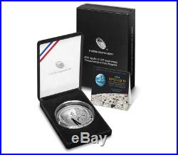 2019 Apollo 11 Proof 5 oz Silver $1 Dollar Proof Coin with OPG Mint Box COA