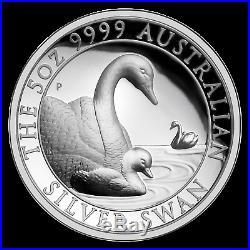 2019 Australia 5 oz Silver Swan Proof (High Relief, withBox & COA) SKU#196960