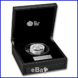 2019 GB Proof 10 oz Silver Queen's Beasts Falcon (Box & COA) SKU#172829