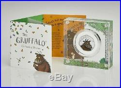 2019 Royal Mint The Gruffalo 50p Fifty Pence Silver Proof Coin Box Coa