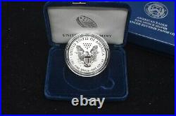 2019-S 19XE Enhanced Reverse Proof American Silver Eagle with COA & Boxes