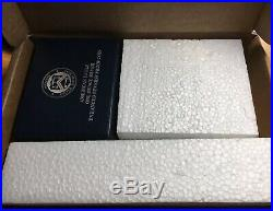 2019 S American Silver Eagle Enhanced Reverse Proof Key Date With Box & OGP