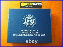 2019 S Enhanced Reverse Proof Silver Eagle Ngc Pf69 Baltimore Release W Box Coa