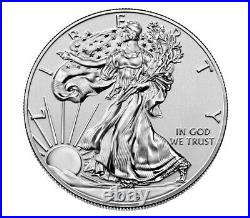 2019-S Silver American Eagle Enhanced Reverse Proof in Sealed Mint Box