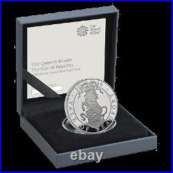 2019 The Queens Beasts Silver Proof 1oz The Yale Of Beaufort Boxed Coa Mint