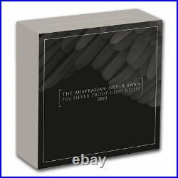 2020 Australia 5 oz Silver Swan Proof (High Relief, withBox & COA) SKU#217011