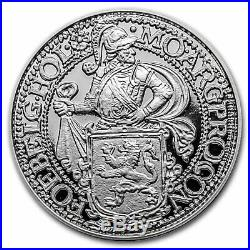 2020 Netherlands 1 oz Silver Proof Lion Dollar (withDelft Box) SKU#207626
