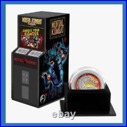 2020 Niue Mortal Kombat Arcade Design Box COA 1 0z Silver Proof