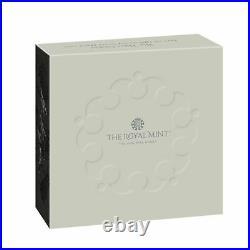 2020 Royal Mint Three Graces £5 Five Pound Silver Proof 2oz Coin Box Coa