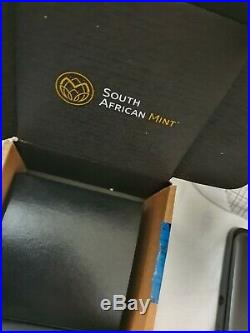 2020 South Africa Krugerrand Silver Proof 2oz Coin Box Coa l2020