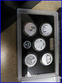 2020 U. S. Mint Silver Proof Set In Original Box With Coa Without Nickel