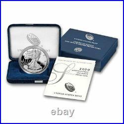 2020-W 1 oz Proof Silver American Eagle (withBox & COA) SKU#205725