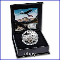 2021 1 oz Ag Treasures of the U. S. Hawaii Lava Rock Proof (Box/COA) IN HAND