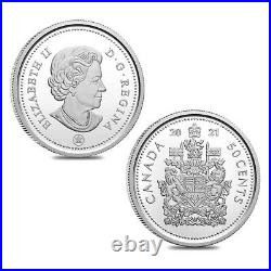 2021 Canada 2.03 oz 100th Anniv of Bluenose Proof Silver 7-Coin Set withBox & COA