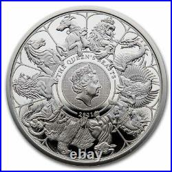 2021 GB 1 oz Silver Queen's Beasts Collector Proof (withBox & COA) SKU#232177