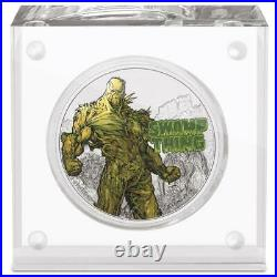 2021 Niue DC Comics Justice League Swamp Thing 1 oz Silver Proof Coin New in Box