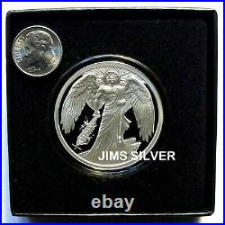 2021 Silver Shield SWORD OF TRUTH 1 oz. Silver PROOF with COA & BOX! In Stock