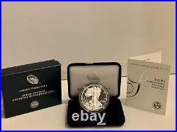 2021-W AMERICAN SILVER EAGLE PROOF withBOX & COA (20EA) U. S. Mint Release