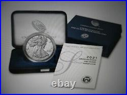 2021-W American Eagle One Ounce Silver Proof Coin SEALED BOX/ In Hand