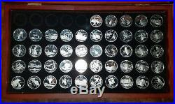 50 STATE QUARTER SETPROOF1999-2008With BOX90% SILVER6 TERRITORIESNICE SET