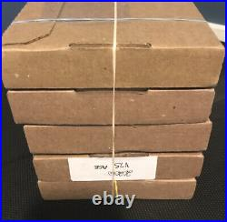 5- SEALED 2020 W Proof American Silver Eagle V75 Box Orig Mint Packaging 5 indiv