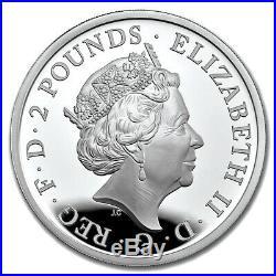BRITANNIA 1oz Proof Silver Coin United Kingdom 2019 with COA and BOX
