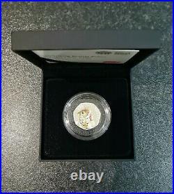 Beatrix Potter 2018 UK 50p Silver Proof Coins Set Of 4 by Royal Mint (black box)