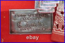 Coronation Silverplate, 1936 by ONEIDA COMMUNITY 90 Pieces Tarnish Proof Box uu