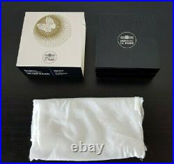 France 10 euro Silver Proof coin 2016 Van Cleef & Arpels Alhambra NEW +box COA