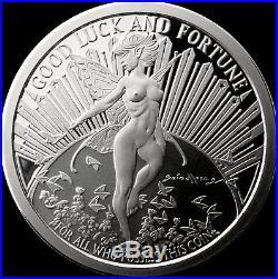 Gwen the Fairy 5 OZ. 999 Silver Proof Tom Grindberg Marvel Comics With Box & COA