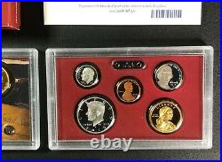 Lot of (10) 2010 US Mint Silver Proof Sets with Storage Box