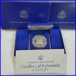Lot of (10) Different Commemorative Proof Silver Dollars, Original Boxes & COAs
