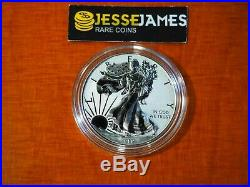 Presale 2019 S Enhanced Reverse Proof Silver Eagle With Box And Numbered Coa