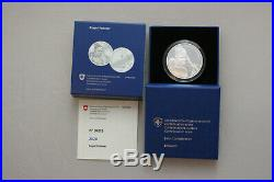 Roger Federer silver proof CHF 20 Francs Franken 2020 with box + certificate