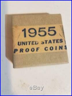 Sealed 1955 US Mint Silver Proof Set in Original Unopened Box (1 Set)