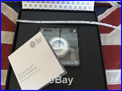 Snowman Silver Proof 50p Deluxe BLACK BOX Royal Mint Limited 2000 made. In Hand