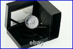 South Africa 2018 1 Rand Krugerrand 1oz. Silver Proof Coin Coa Box