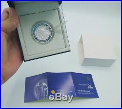 Thailand Coin Proof Silver 200 Baht 2016 Thai Wildlife Elephant Unc+box