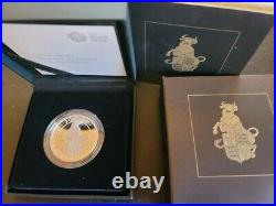 The Queen's Beasts- 1 oz silver proof coins withboxes and COA's FULL SET of 10